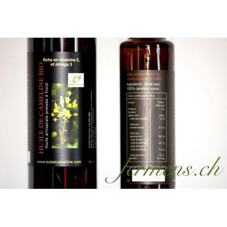 L'huile de caméline  250ml
