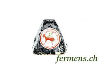 fromage frais de chèvre - pyramide cendrée