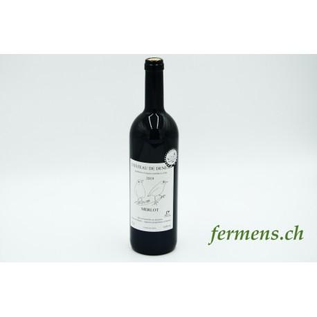 Vin rouge Merlot Château de Denens (75cl)