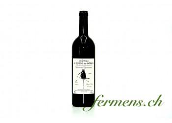 Vin rouge Pinot Noir, fût de chêne Château de Denens