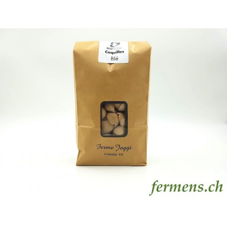 Pâtes Coquilles de blé (500gr)