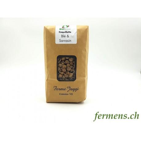 Pâtes Coquillettes Blé & Sarrasin (500gr)