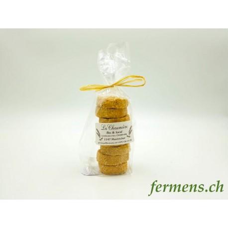 Biscuits sésame-orange