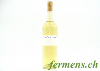 Vin blanc Chasselas 2019, La Capitaine, 75cl