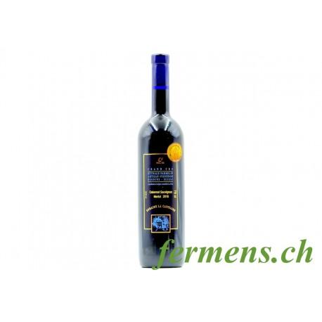 Vin rouge Cabernet sauvignon-Merlot 2018, La Capitaine, 75cl