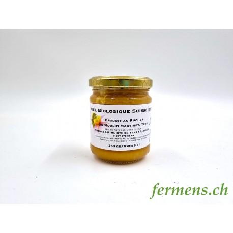 Miel Suisse (ambré 250gr)